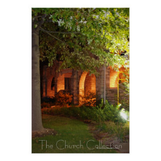The Church Collection - Light In The Archway Poster