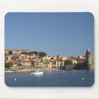 The church Eglise Notre Dame des Anges, our lady 2 Mouse Pad