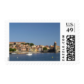 The church Eglise Notre Dame des Anges, our lady 2 Postage Stamp