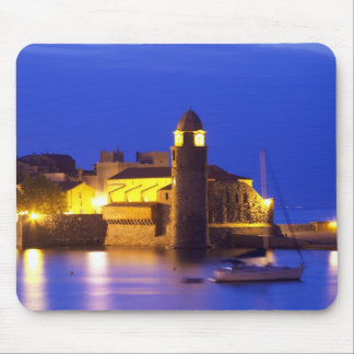 The church Eglise Notre Dame des Anges, our lady Mouse Pad
