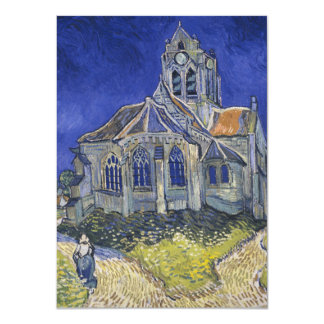 The Church in Auvers by Vincent van Gogh Card