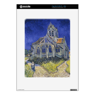 The Church in Auvers by Vincent van Gogh iPad Skins