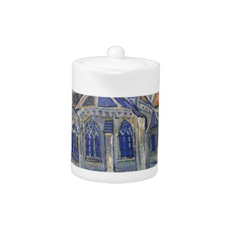The Church in Auvers by Vincent van Gogh Teapot