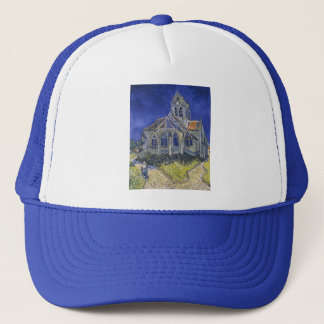The Church in Auvers by Vincent van Gogh Trucker Hat