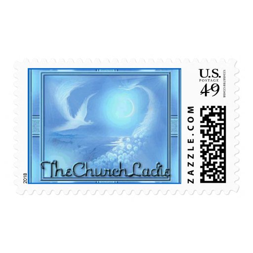 The Church Ladie Stamp