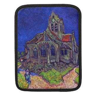 The Church of Auvers by Vincent Willem van Gogh Sleeve For iPads