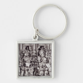 The Church of England Against the Papacy Keychain