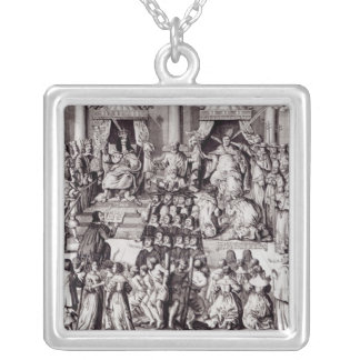 The Church of England Against the Papacy Silver Plated Necklace