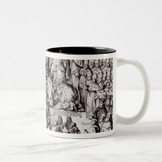 The Church of England Against the Papacy Two-Tone Coffee Mug