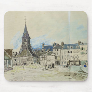 The Church of Sainte-Catherine, Honfleur, 1864 Mouse Pad