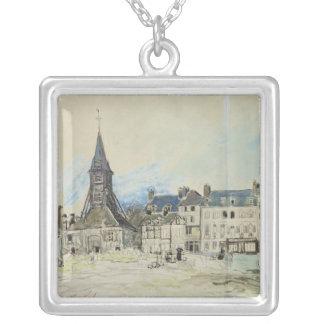 The Church of Sainte-Catherine, Honfleur, 1864 Necklaces