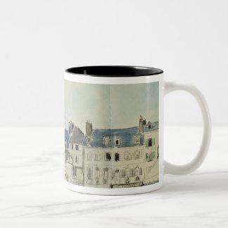 The Church of Sainte-Catherine, Honfleur, 1864 Two-Tone Coffee Mug