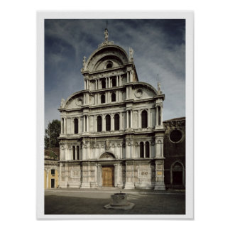 The Church of San Zaccaria, 1480-1500 (photo) Poster