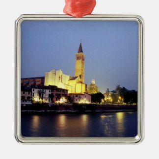 The church of Sant Anastasia in Verona Italy Christmas Tree Ornament