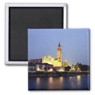 The church of Sant'Anastasia in Verona, Italy. Magnet