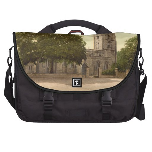 The Church of St Andrew, Cheddar, Somerset Commuter Bag