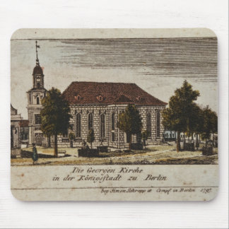 The Church of St. George in Konigsstadt, Mouse Pad