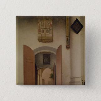 The Church of St. Laurens, Alkmaar, 1661 Pinback Button