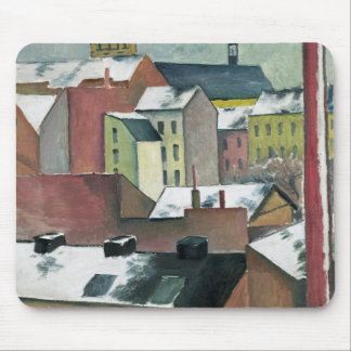 The Church of St Mary in Bonn in Snow, 1911 Mouse Pad