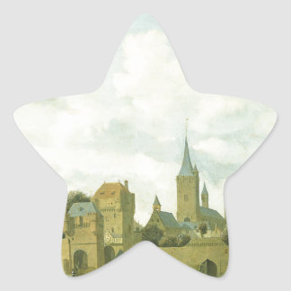 The church of St. Severin in Cologne in a fictive Star Sticker