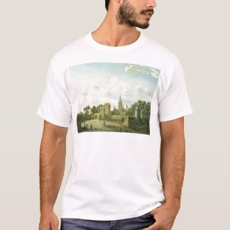The church of St. Severin in Cologne in a fictive T-Shirt