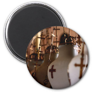 The church of the holy sepulchre, Jerusalem,Israel 2 Inch Round Magnet