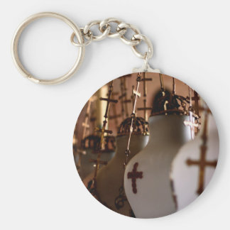 The church of the holy sepulchre, Jerusalem,Israel Basic Round Button Keychain