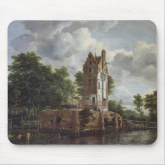 The Church Tower Mouse Pad