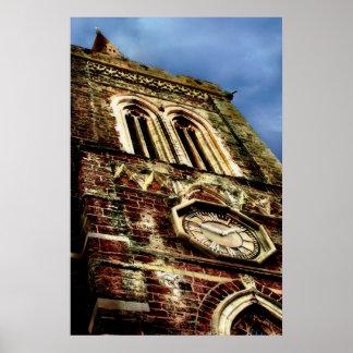 The Church Tower Print