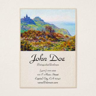 The Church Varengeville Gorge Les Moutiers Business Card