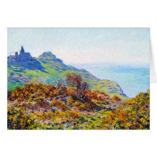 The Church Varengeville Gorge Les Moutiers Card