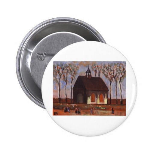 THE CHURCHGOERS 2 INCH ROUND BUTTON