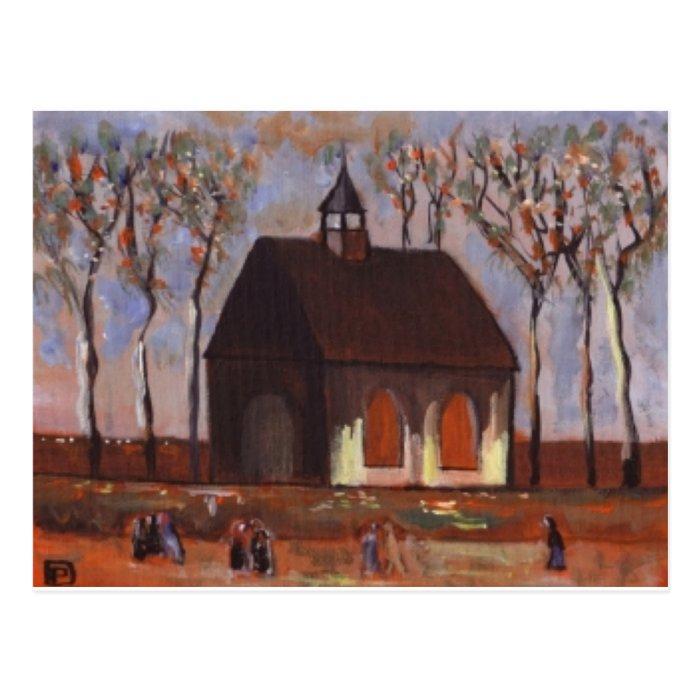 THE CHURCHGOERS POSTCARD
