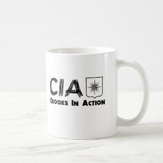 The CIA Crooks In Action Coffee Mug