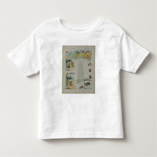The Cicada and the Ant from the Fables Toddler T-shirt