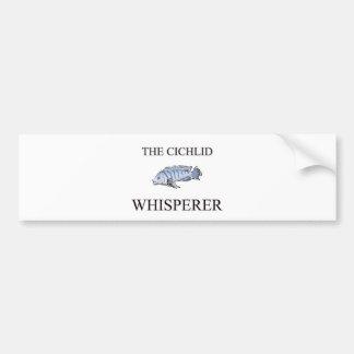 The Cichlid Whisperer Car Bumper Sticker