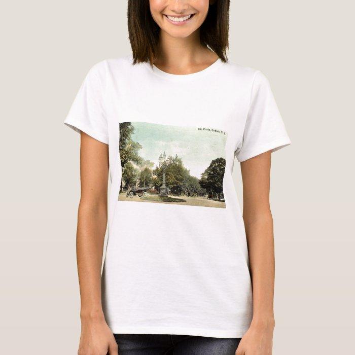 The Circle, Buffalo NY 1913 Vintage T-Shirt
