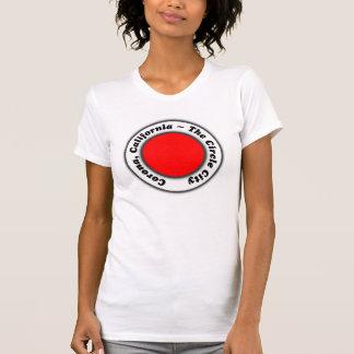 The Circle City Corona California CA Cal Design T-shirt