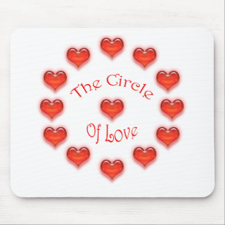 The Circle of Love Mousepads