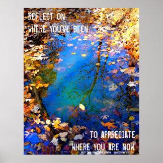 The Circle of Seasons Inspirational Poster