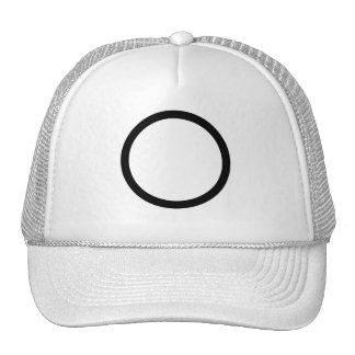 The circle trucker hat