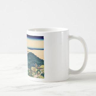 The Circular Pine Trees of Aoyama Coffee Mug