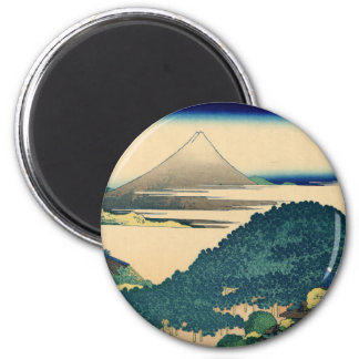 The Circular Pine Trees of Aoyama 2 Inch Round Magnet