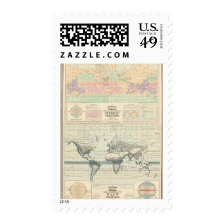 the Circulation of the Winds Postage