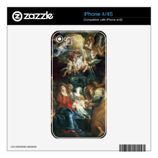The Circumcision, c.1605 (oil on canvas) Decal For The iPhone 4S
