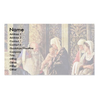 The Circumsicion Detail Of Jesus Double-Sided Standard Business Cards (Pack Of 100)