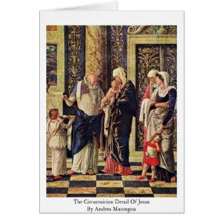 The Circumsicion Detail Of Jesus Card
