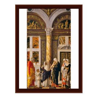 The Circumsicion Of Jesus By Andrea Mantegna Postcard