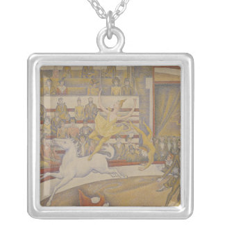 The Circus, 1891 Silver Plated Necklace