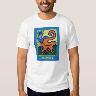 """The Circus Boy"" on blue by Zermeno T-Shirt"